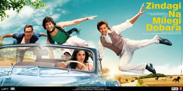 Zindagi Na Milegi Dobara (2011) - Hrithik Roshan And Katrina Kaif