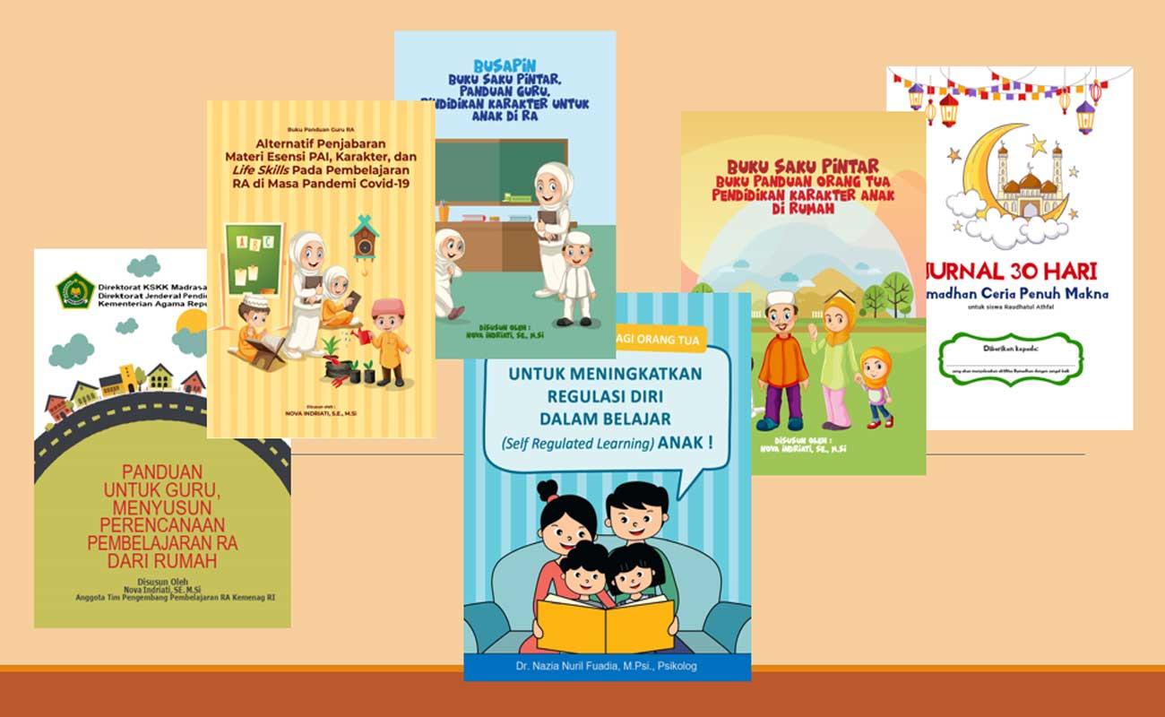 Buku Digital Panduan Pembelajaran RA Dimasa Pandemi Covid-19