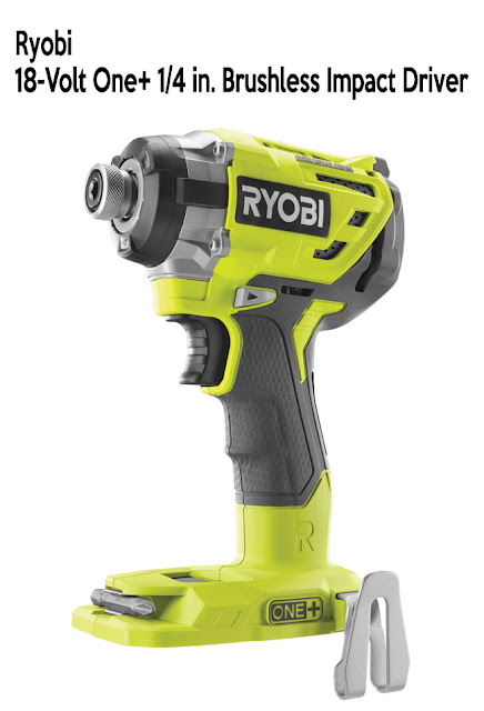 RYOBI 18-Volt One+ 1/4 in. Brushless Impact Driver - #thdprospective