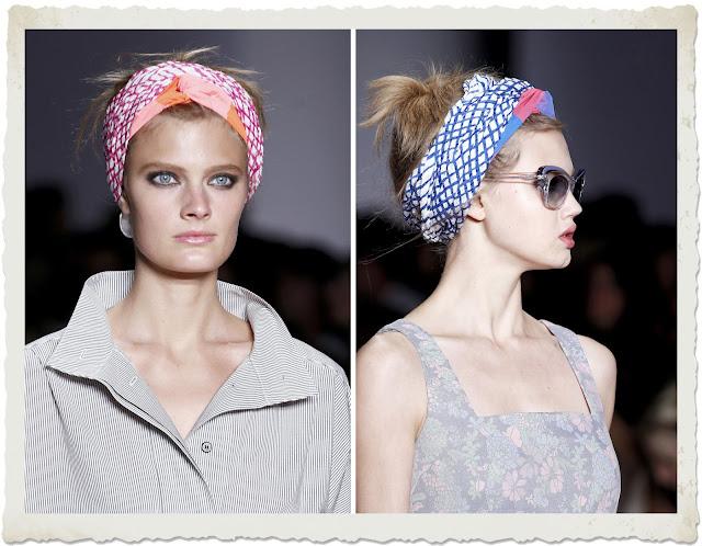foulard in testa Marc by Marc Jacob