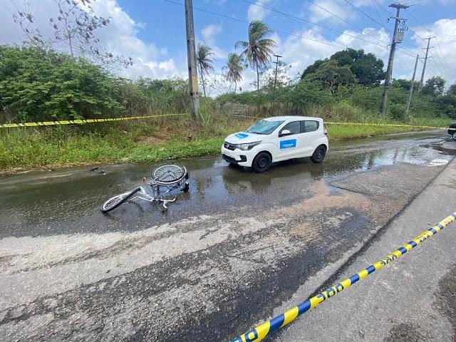 Ciclista morre após ser atropelado na BR-304 na Grande Natal
