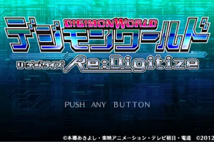 Download Game Digimon PPSSPP ISO Android / PC