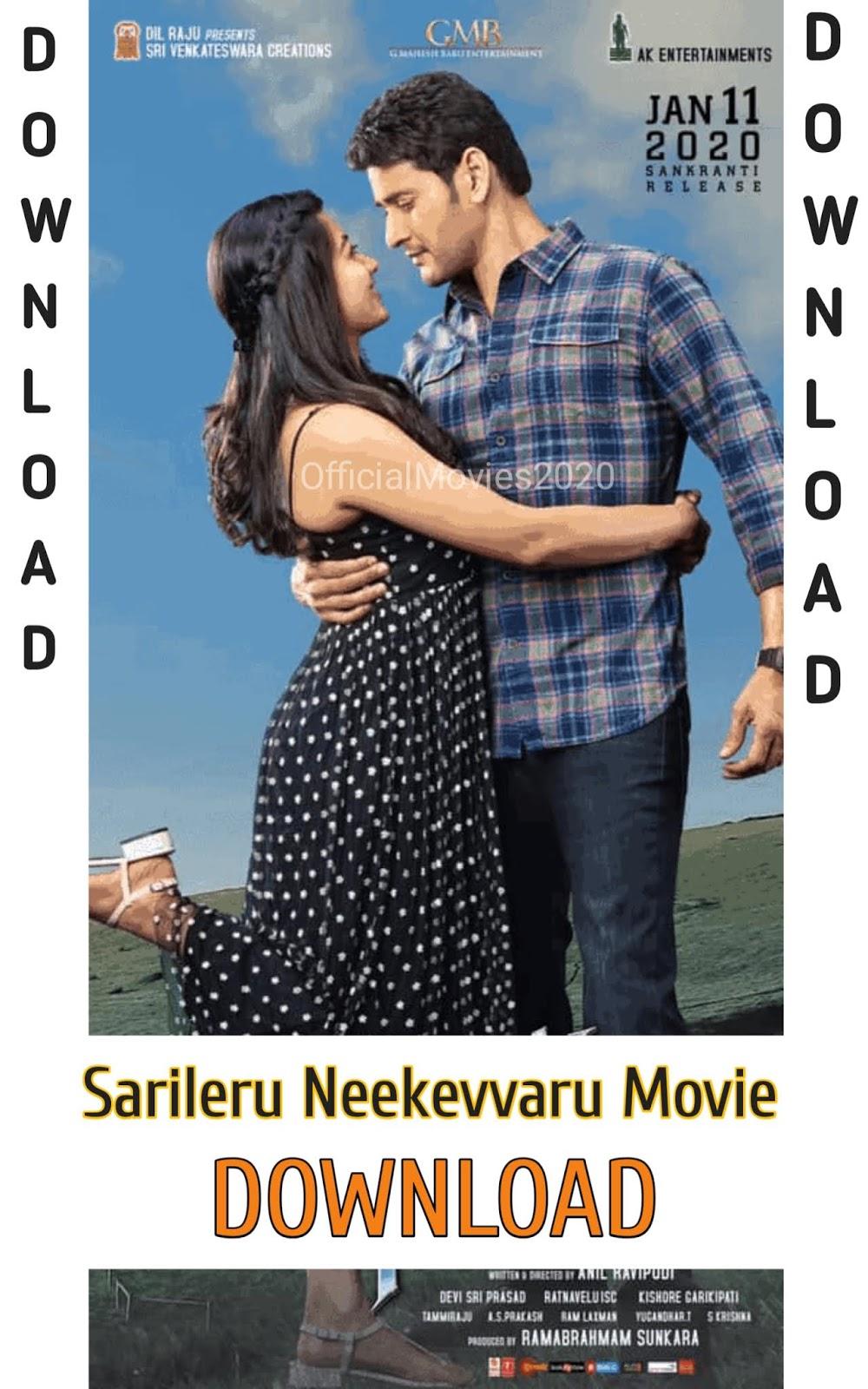 Filmyzilla Sarileru Neekevvaru Movie Full Movie In Hindi Dubbed 480p