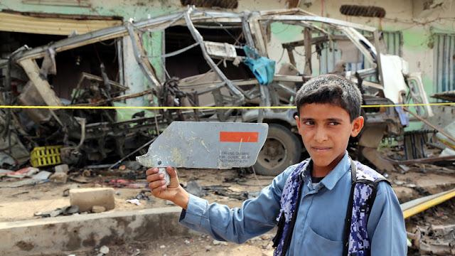 CNN: La bomba que mató a 40 niños en un autobús escolar en Yemen fue fabricada en Estados Unidos