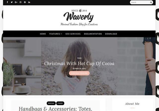 Waverly Blogger Theme