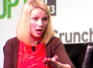 Marissa Mayer At TechCrunch Disrupt: On NSA, Larry Page, Mark Zuckerberg