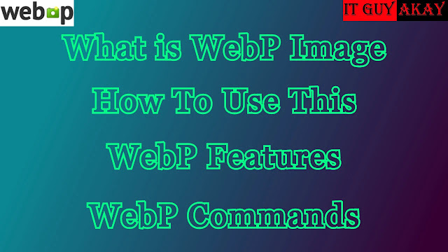 What is WebP Images Formats