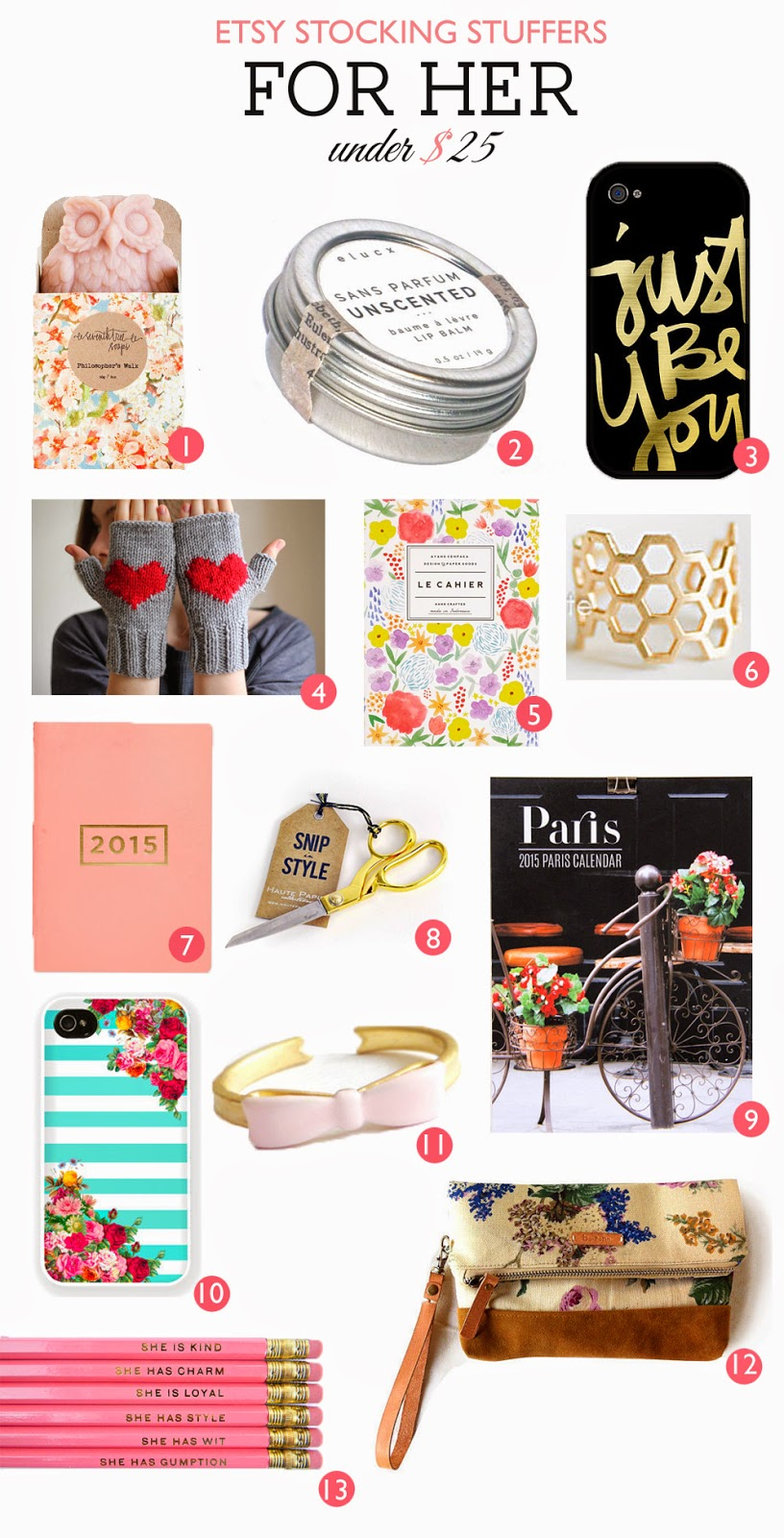 etsy stocking stuffers for her under $25