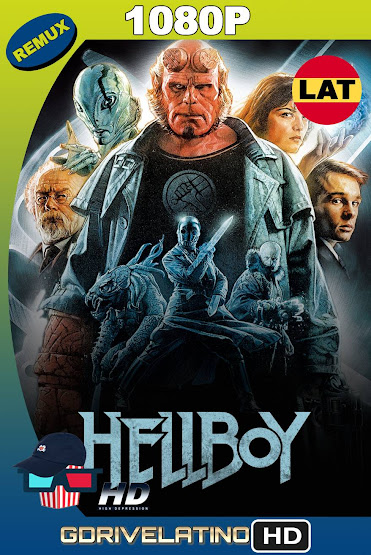 Hellboy (2004) BDRemux 1080p Latino-Ingles MKV