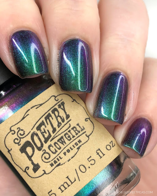 Poetry Cowgirl Nail Polish You are Enough 25 Sweetpeas