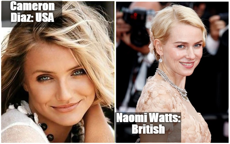 10 Most Beautiful American Women Vs Most Beautiful British Women