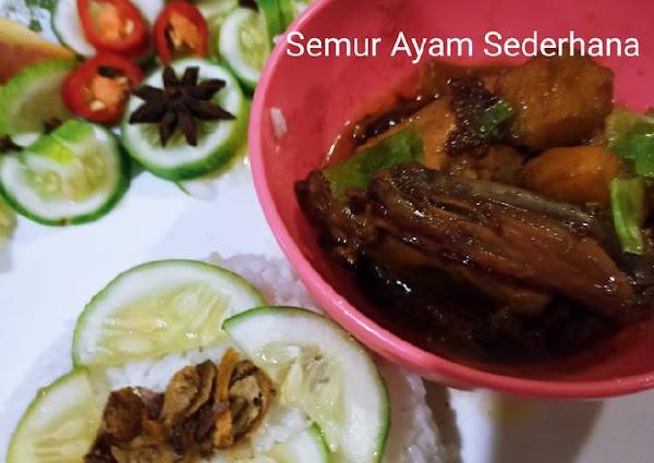 Semur Ayam Sederhana