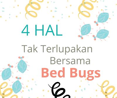 4 Hal Tak Terlupakan Bersama Bed Bugs
