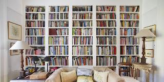 รับทำตู้หนังสือแบบมีบันไดรางเลื่อน บันไดพาด เหมือนในห้องสมุด !!