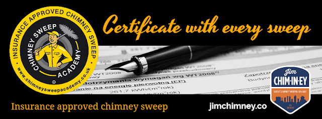 chimney sweep Certificate dorset bournemouth poole