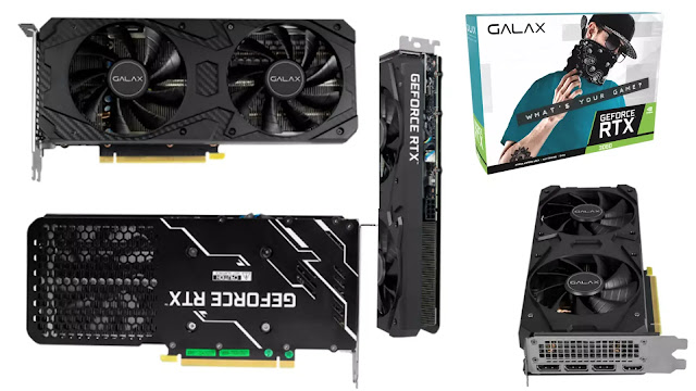 Galax-GeForce-RTX-3060-12GB-1-Click-OC-Front-Back-Top-Side-IO-Box-View