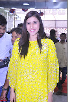 Mannara Chopra Looks Cute in Yellow Salwar Suit ~  Exclusive 51.JPG