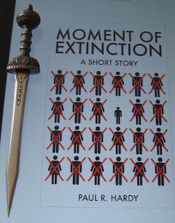 Portada del libro Moment of Extinction, de Paul R. Hardy