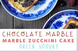 #Chocolate #Marble #Zucchini #Cake #Greek #Yogurt