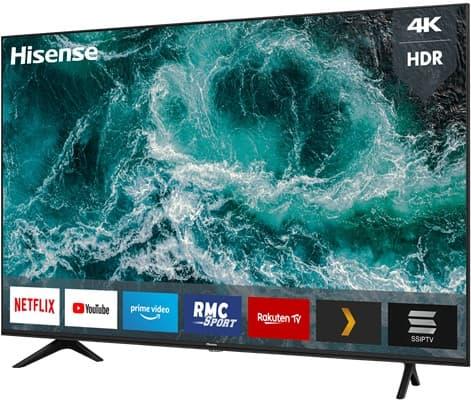 Hisense 58AE7000F: Smart TV 4K de 58'' con Alexa integrada, sonido DTS Studios Sound y software VIDAA U 4.0