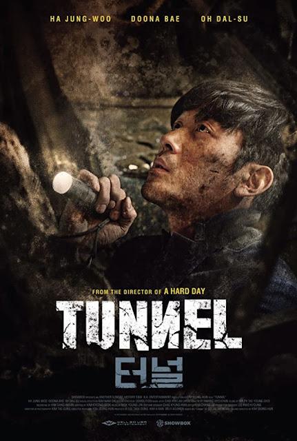 poster, film, korea, tunnel, 2016