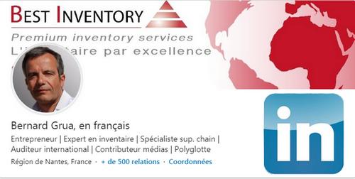 Profil linkedin en français de Bernard Grua