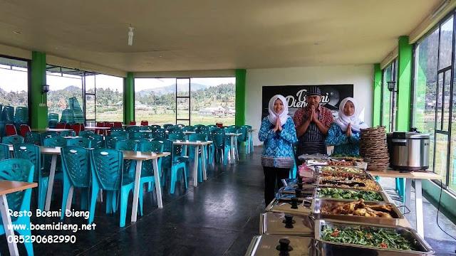 rumah makan resto boemi dieng