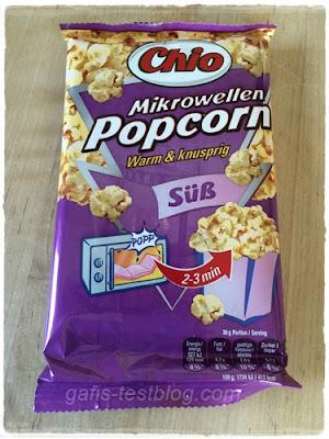 Chio – Mikrowellen Popcorn süß