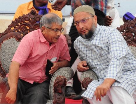एमआयएम विधानसभेला 100 जागा लढवण्यास इच्छुक, प्रकाश आंबेडकरांकडे सोपवली यादी  MIM intrested to constest election 1000 seat in vidhansabha election