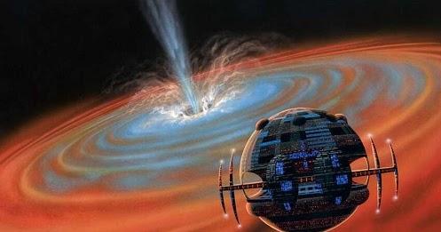 Cientistas confirmam que Civilizações Extraterrestres usam buracos Negros para gerar Energia