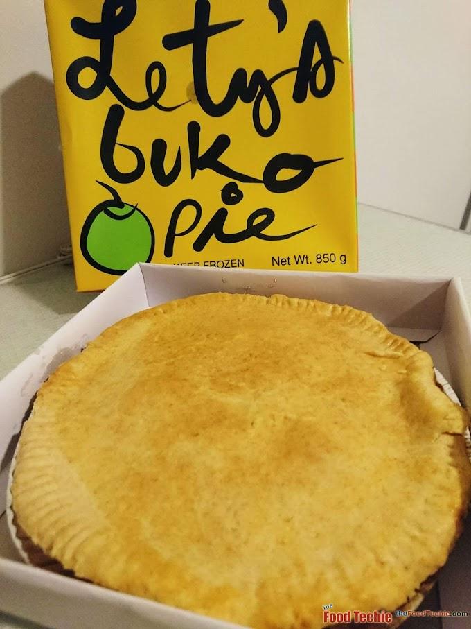 Cravings satisfied - Letty's Buko Pie Los Banos Laguna