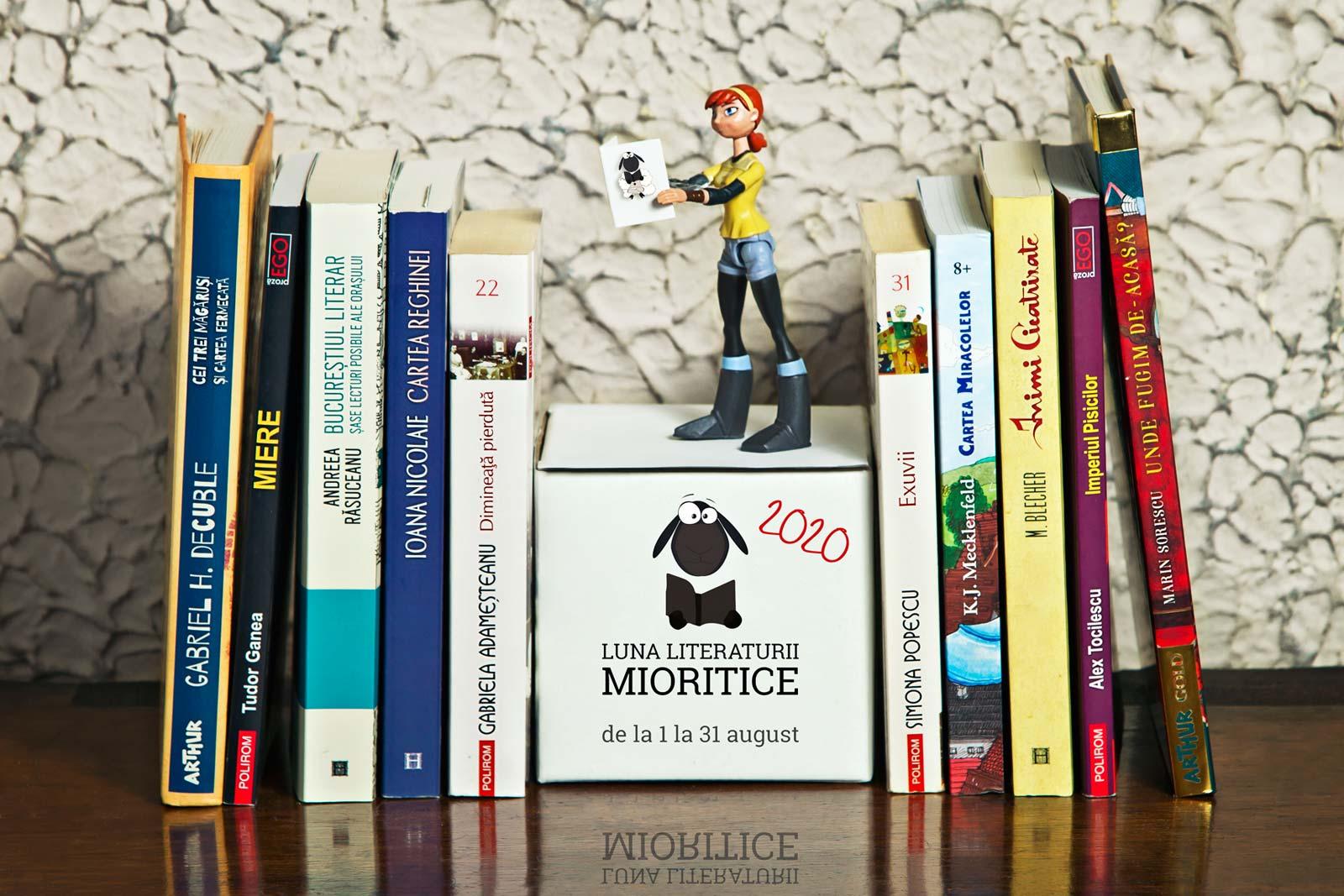 Luna literaturii mioritice 2020 autori romani