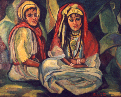 Bedouin Brother and Sister (1933), Juanita Guccione