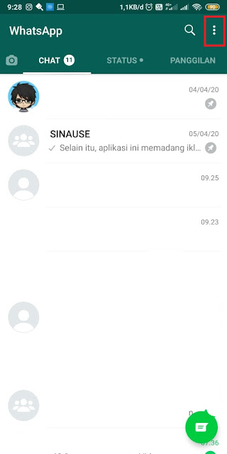 Cara Mengubah Gelembung Whatsapp - Tanpa Aplikasi