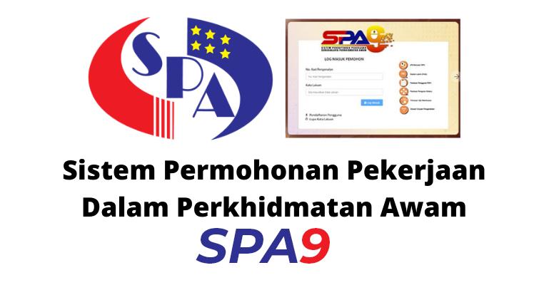 Permohonan Jawatan Suruhanjaya Perkhidmatan Awam Spa Menggunakan Spa9 Menggantikan Spa8i Jobcari Com Jawatan Kosong Terkini