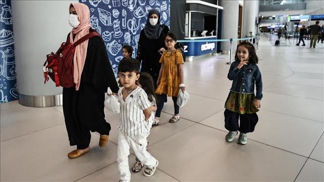 Lebih dari 350 Orang dari Afghanistan Tiba di Istanbul