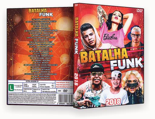 DVD – BATALHA DO FUNK – ISO