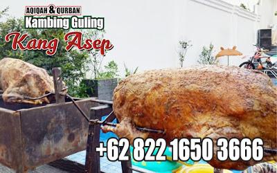 Kang Asep Kambing Guling di Ciwidey Bandung,kambing guling ciwidey,kambing guling bandung,kang asep,