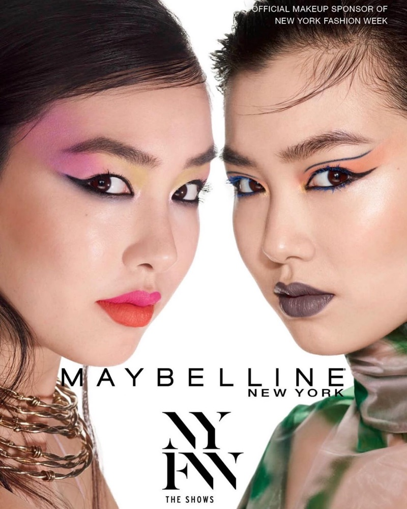 Estelle Chen fronts Maybelline NYFW spring-summer 2020 campaign