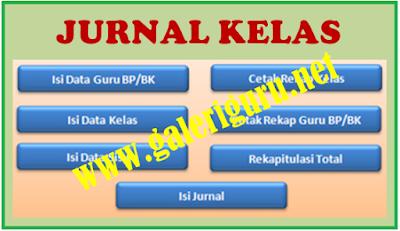 kumpulan jurnal kelas excel download (Galeri Guru)