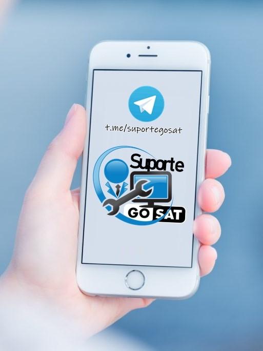Grupo de Suporte Oficial Gosat no Telegram