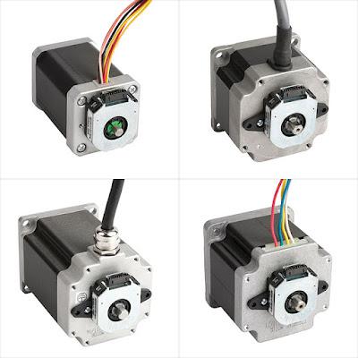 Basic Types of Encoders for Stepper Motor