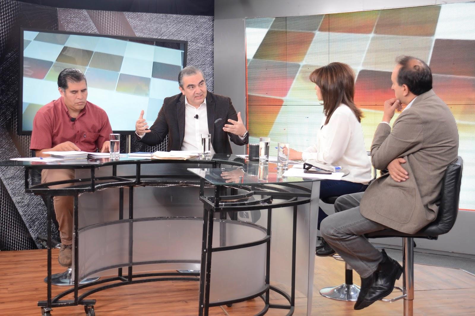 Viceministro entrevistado en el canal gubernamental sobre conflicto Incahuasi / ABI