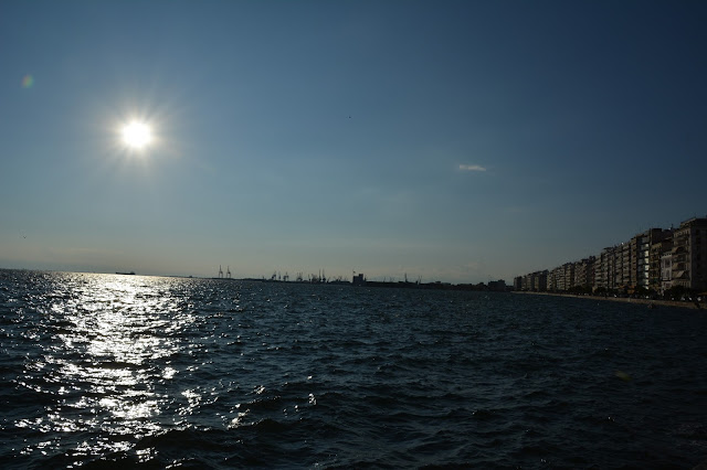 Promenade Sahili gün batımı
