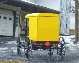 Yellow buggy