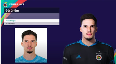 PES 2021 Faces Altay Bayındır by PES Football Turkey