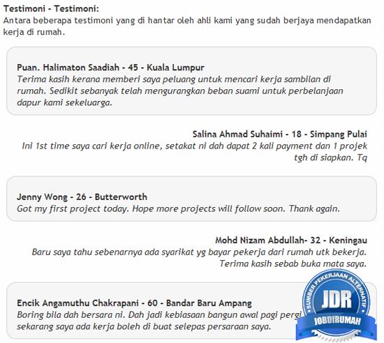 Khidmat diberikan jobdirumah.com