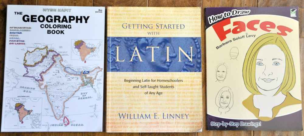 geography coloring book like new unused 10 sold getting started with latin good wear on cover and corners 10 sold how to draw faces like new - Geography Coloring Book