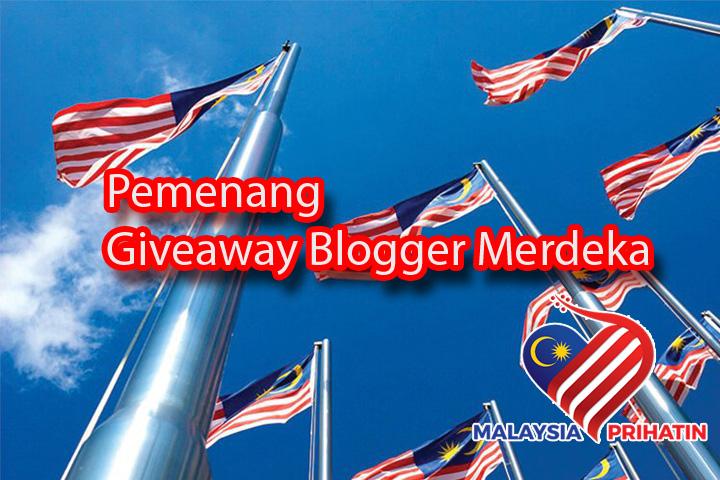 Giveaway Blogger Merdeka Malaysia 2020