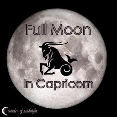 luna piena capricorno fasi lunari